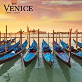 Venice 2019 12 x 12 Inch Monthly Square Wall Calendar, Scenic Travel Europe Italy (English, French and Spanish Edition)