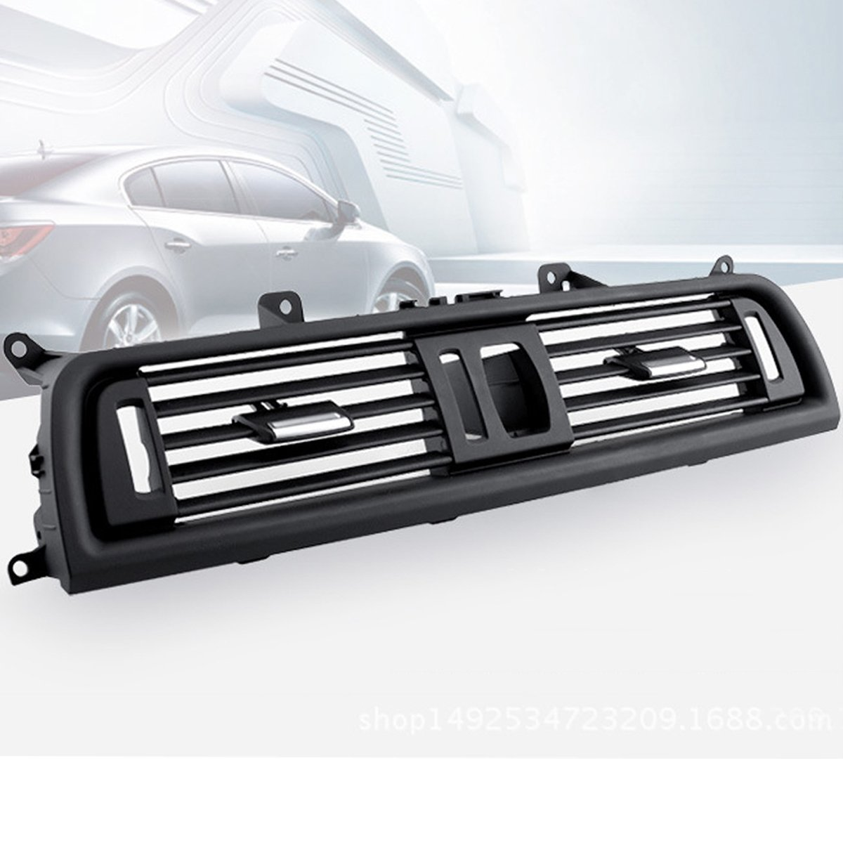 Viviance Car Front Dash Panel Center Fresh Air Outlet Vent Grille Cover F/ür BMW 5 F10 F18