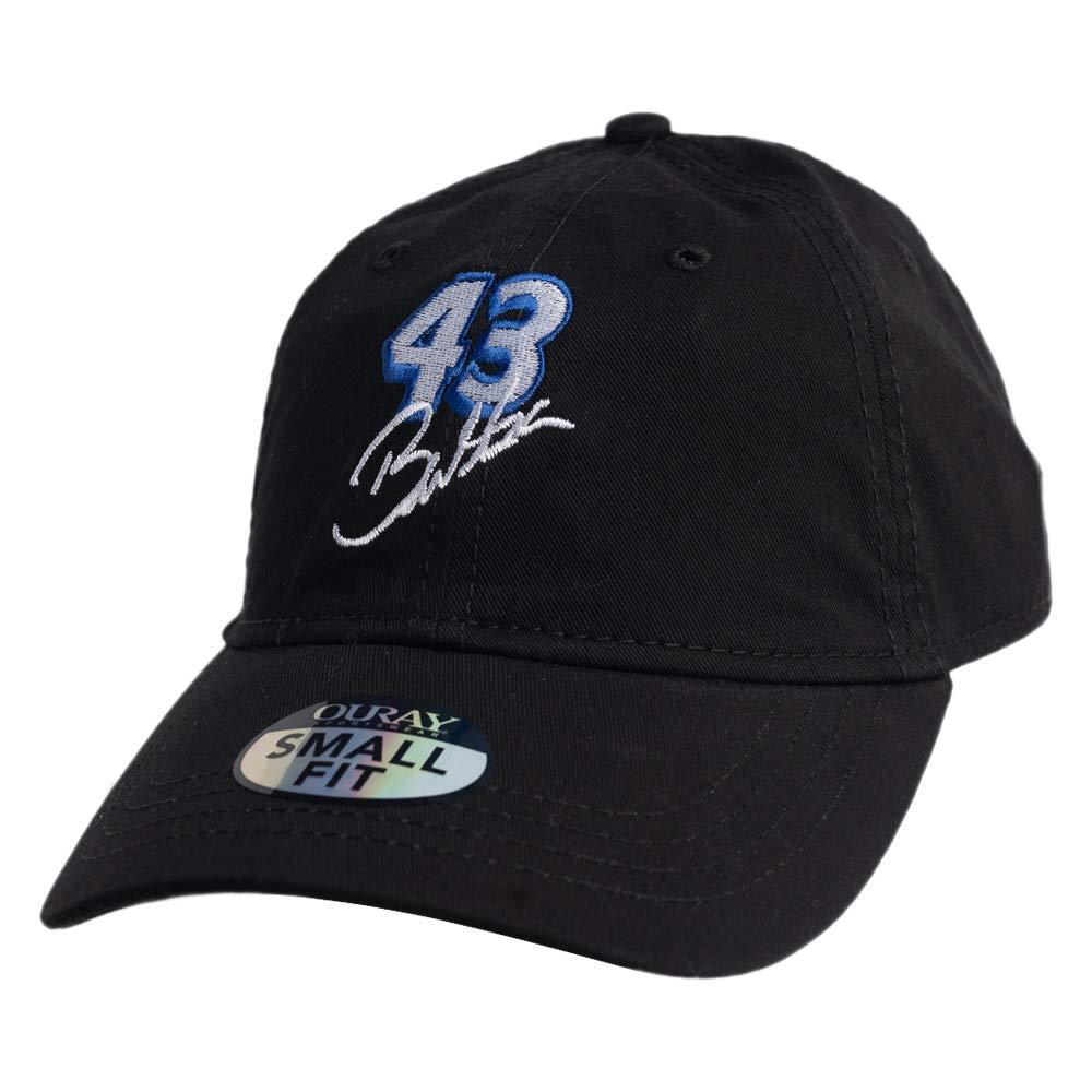NASCAR Richard Petty Motorsports Bubba Wallace Mens Small Fit Epic Black Adjustable
