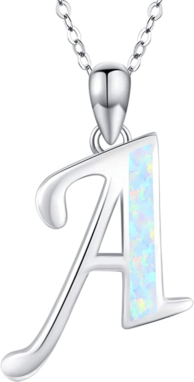 Alphabet birthday gift Sterling Silver I Pendant Charm layered necklace Initial /'/'I/'/' necklace Monogram I Silver Letter