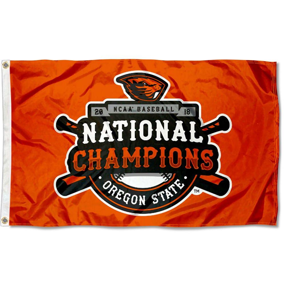 Oregon State Beavers NCAA 2018 College World Series Champions Flag
