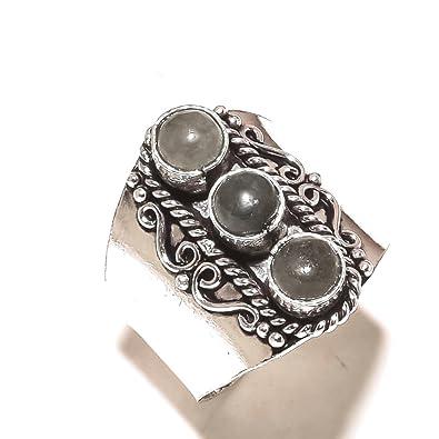 Black Labradorite Sterling Silver Overlay Bangle//Bracelet Free Size Handmade Teens Choice