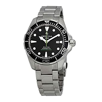 Certina DS Action Diver Powermatic 80 Reloj de hombre 43mm C032.407.11.051.02: Amazon.es: Relojes