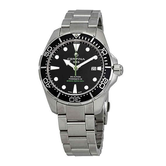 Certina DS Action Diver Powermatic 80 Reloj de hombre 43mm C032.407.11.051.02: Amazon.es: Relojes