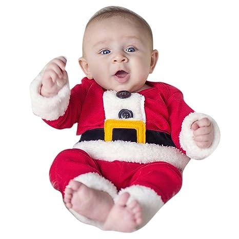 Vine Bebé Niño Dos de Navidad Traje pieza Ropa de Santa ...