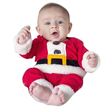 Amazon.com: Baby Boys Christmas Outfits Santa Claus Costume, 18-24 Months:  Baby - Amazon.com: Baby Boys Christmas Outfits Santa Claus Costume, 18-24