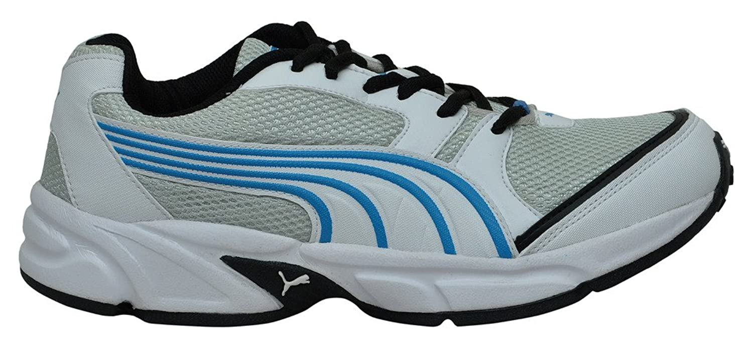 Puma Men's Strike Ind. Ind Huelga Puma Hombres. Black And White Running Shoes Zapatillas De Deporte Blancas Y Negras FX6B8