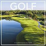 2018 Golf Wall Calendar (Landmark)