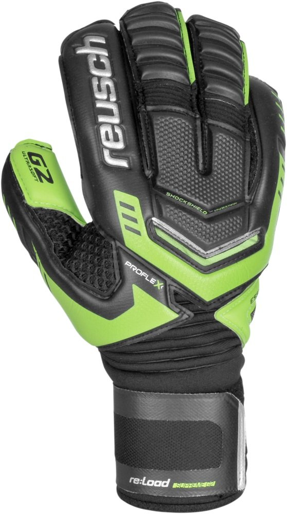 Reusch Handschuh Reload Supreme G2 verde-negro