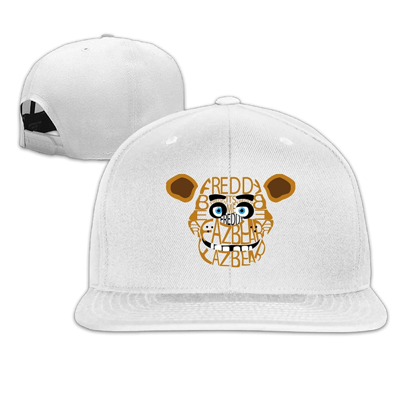 HotBB Unisex Five Nights At Freddy Adjustable Flat Baseball Caps Hats