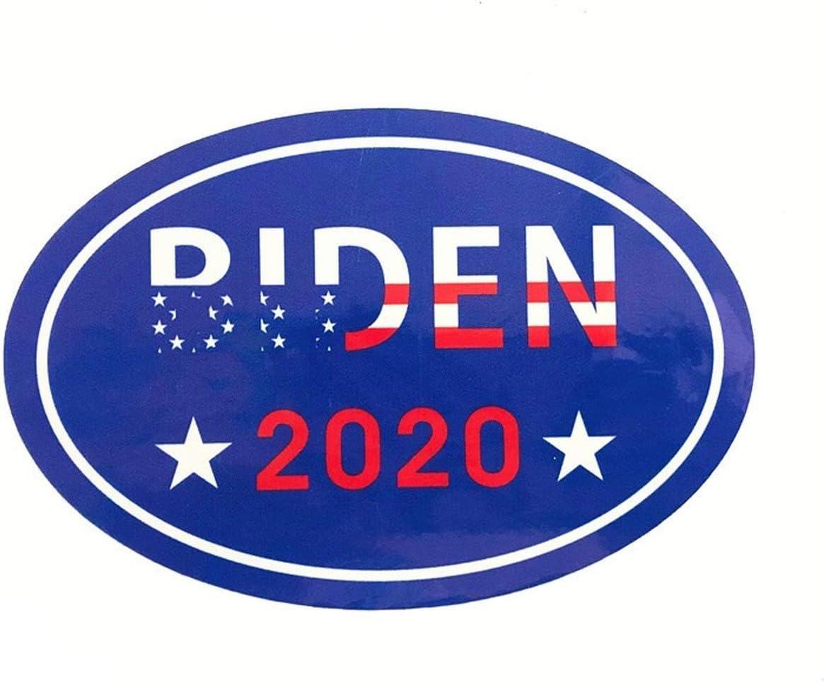 Duofan 4 PCS Biden Harris 2020 Car Magnet for President 2020 Magnetic Bumper Sticker Oval 5.5x3.5