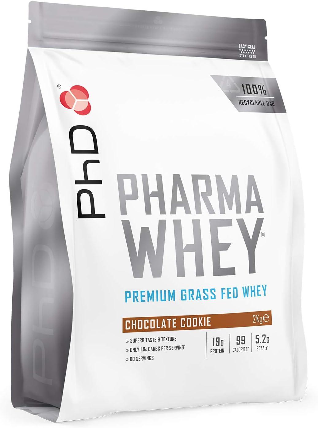 PhD Pharma Whey HT+ Chocolate Cookie - 2270 gr