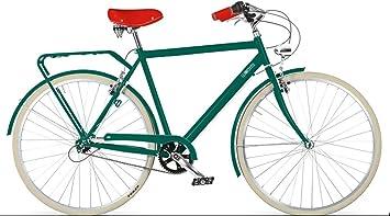 Bicicleta de paseo hombre VERDE INGLES - 3 velocidades ...