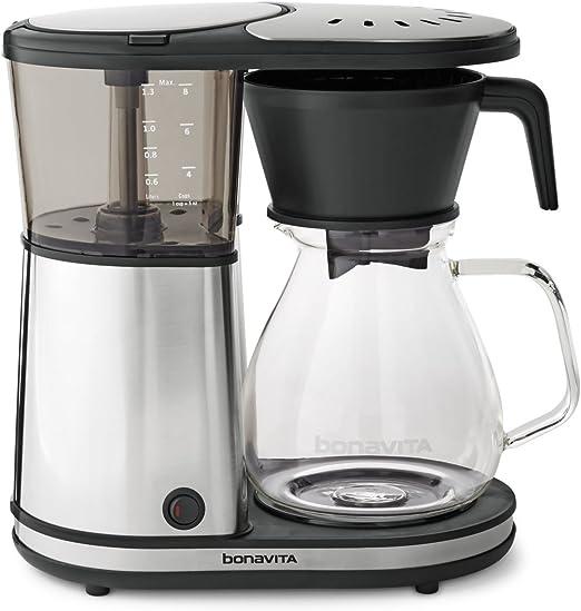 Amazon.com: Bonavita BV1901PS - Cafetera de goteo (8 tazas ...