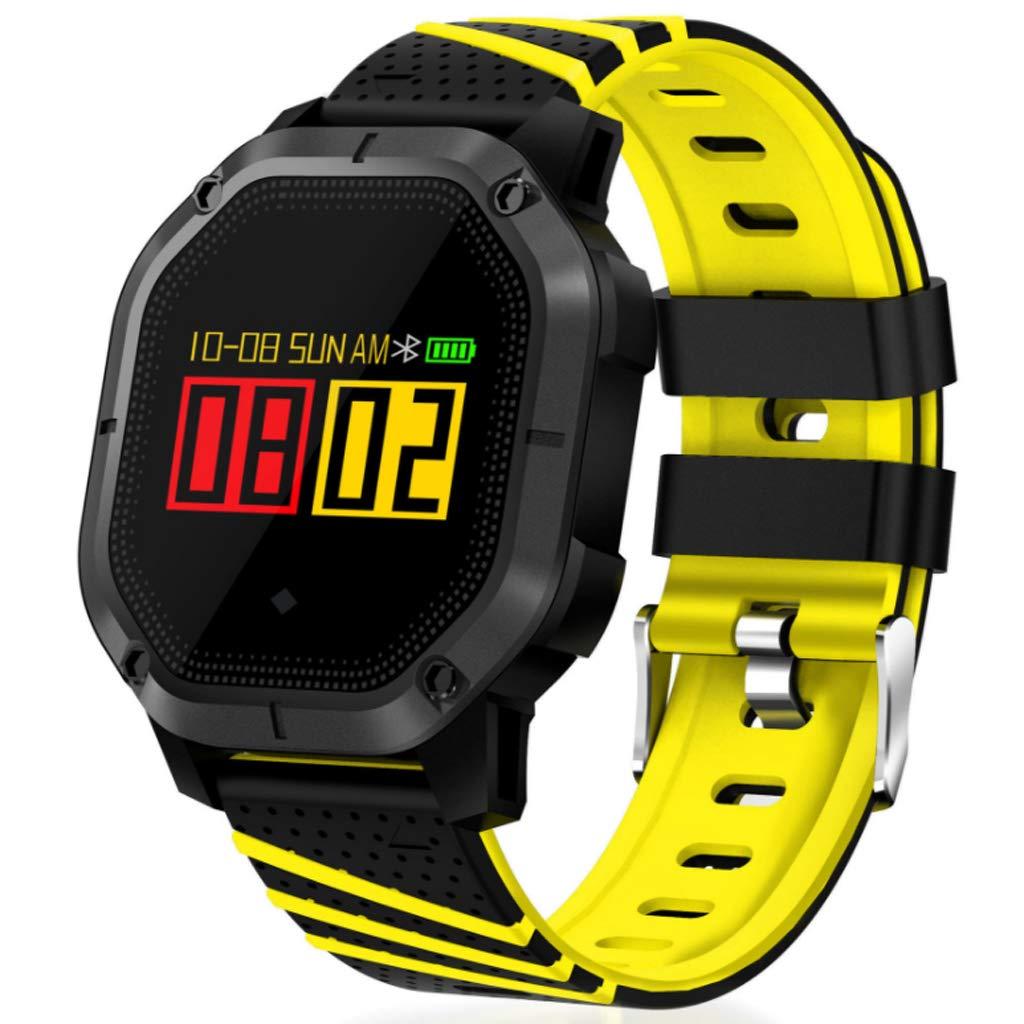 B  Montre Intelligente Sport Bracelet étape Compteur Sports fréquence voiturediaque bleutooth Longue Attente IP68 étanche