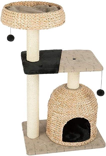 Percha, poste de gato Pucao tejido transpirable fresco gato ...