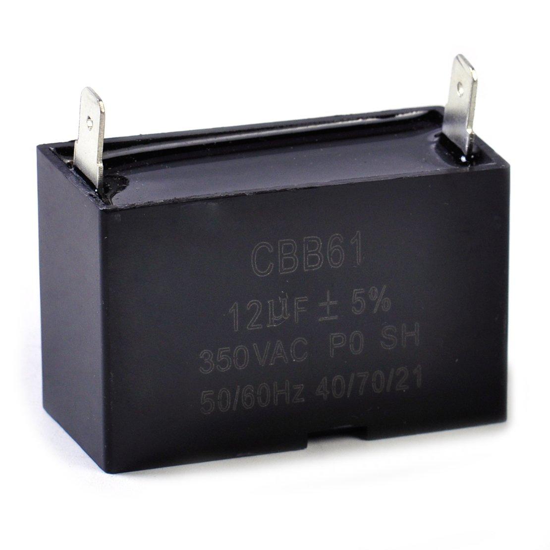 Vendedor cumplido eastar CBB61 12uF Peque/ño generador de Gasolina Capacitor 350 Vac 50 60HZ Motor de Ventilador de Techo