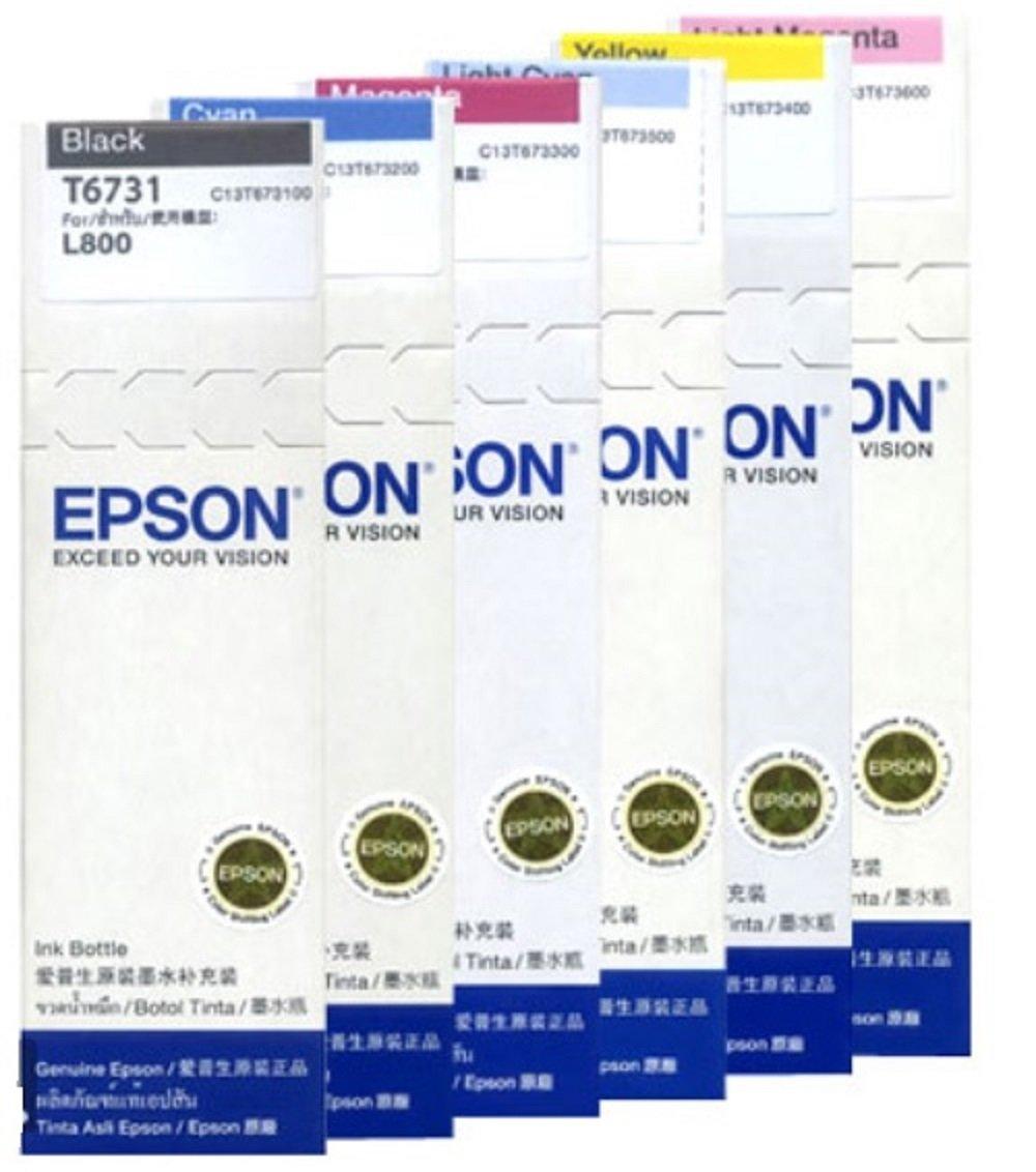 Epson T6731 70ml Schwarze Tintenpatrone Brobedarf Tinta Schreibwaren