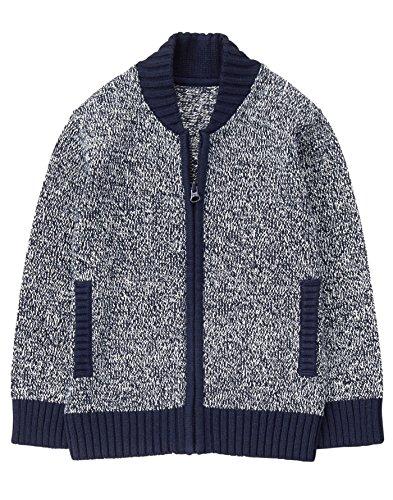 Gymboree Boys' Little Navy Marled Sweater, S (Gymboree Boys Sweater)