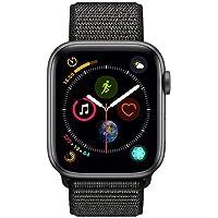 Apple Watch Series 4-40mm Space Gray Aluminum Case with Black Sport Loop, GPS, watchOS 5