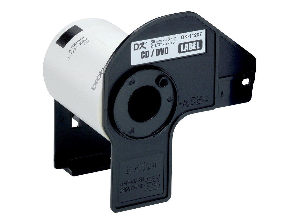 1200 Drucker Etiketten 12mm wasserfest für Brother P-touch QL-650 QL-650TD