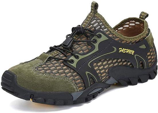Zapatillas de Agua para Senderismo para Hombre Zapatillas New Balance Zapatos para Hombre de Secado rápido Malla Ligera Transpirable Zapatos Impermeables para Correr al Aire Libre: Amazon.es: Zapatos y complementos