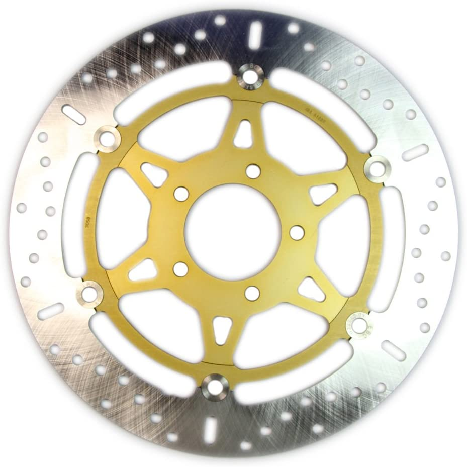 Pro Braking PBF7710-CAR-GOL Front Braided Brake Line Carbolook Hose /& Stainless Gold Banjos