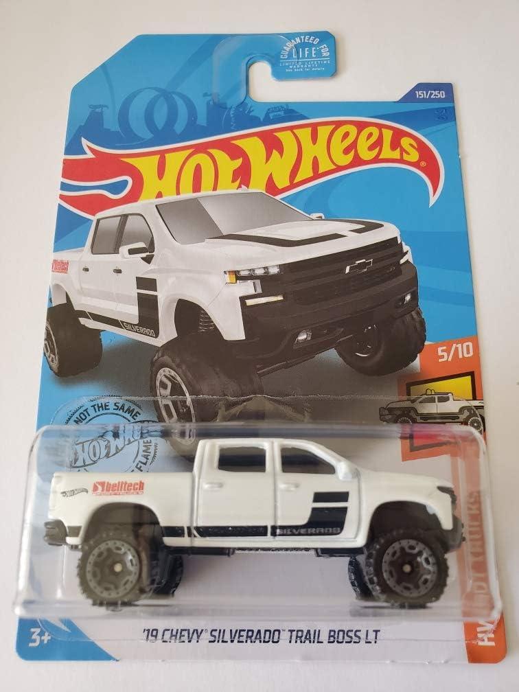 Hot Wheels 2020/' 19 Chevy silverado Trail Boss LT #hw Hot trucks estrenar