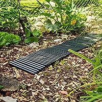UPP® piso enrollable de jardín I placas de jardín enrollables I baldosas de jardín I camino para huerta, patio y jardin: Amazon.es: Jardín