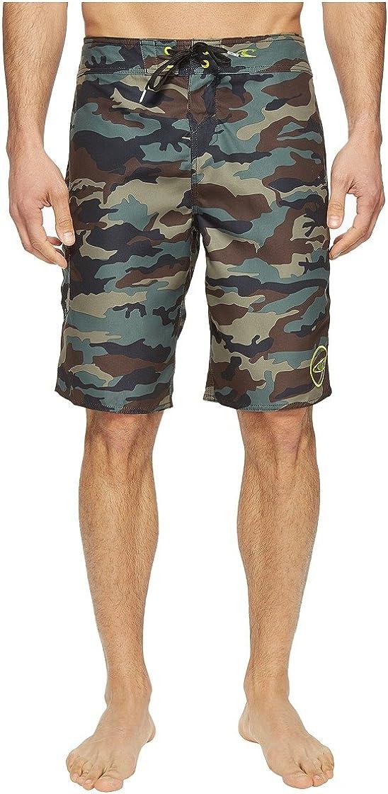 ONeill Mens Santa Cruz Printed Boardshorts