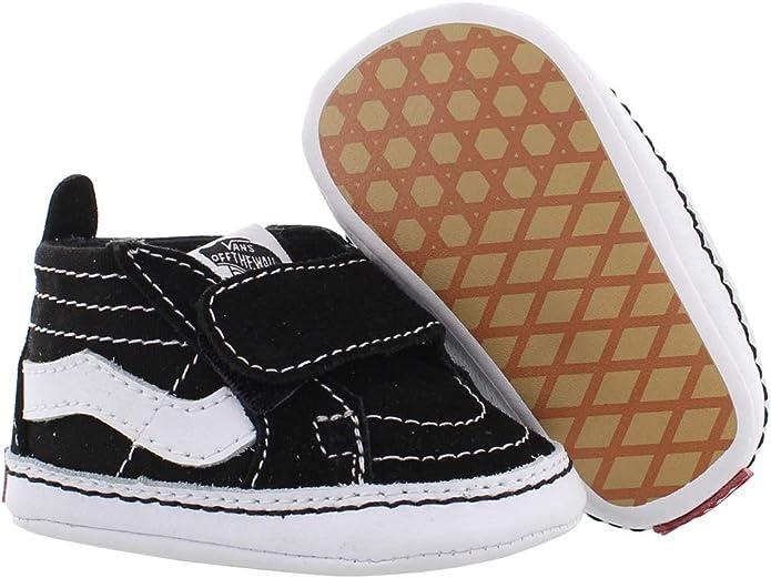 Vans SK8 HI Crib Chaussures DE Sport pour Garcon Noir