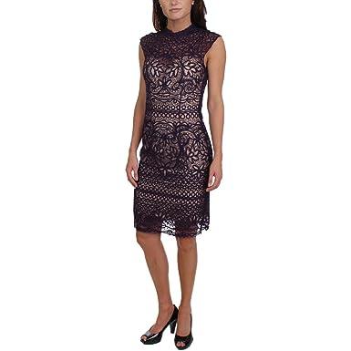 Jvn By Jovani Womens Lace Rhinestone Semi Formal Dress At Amazon