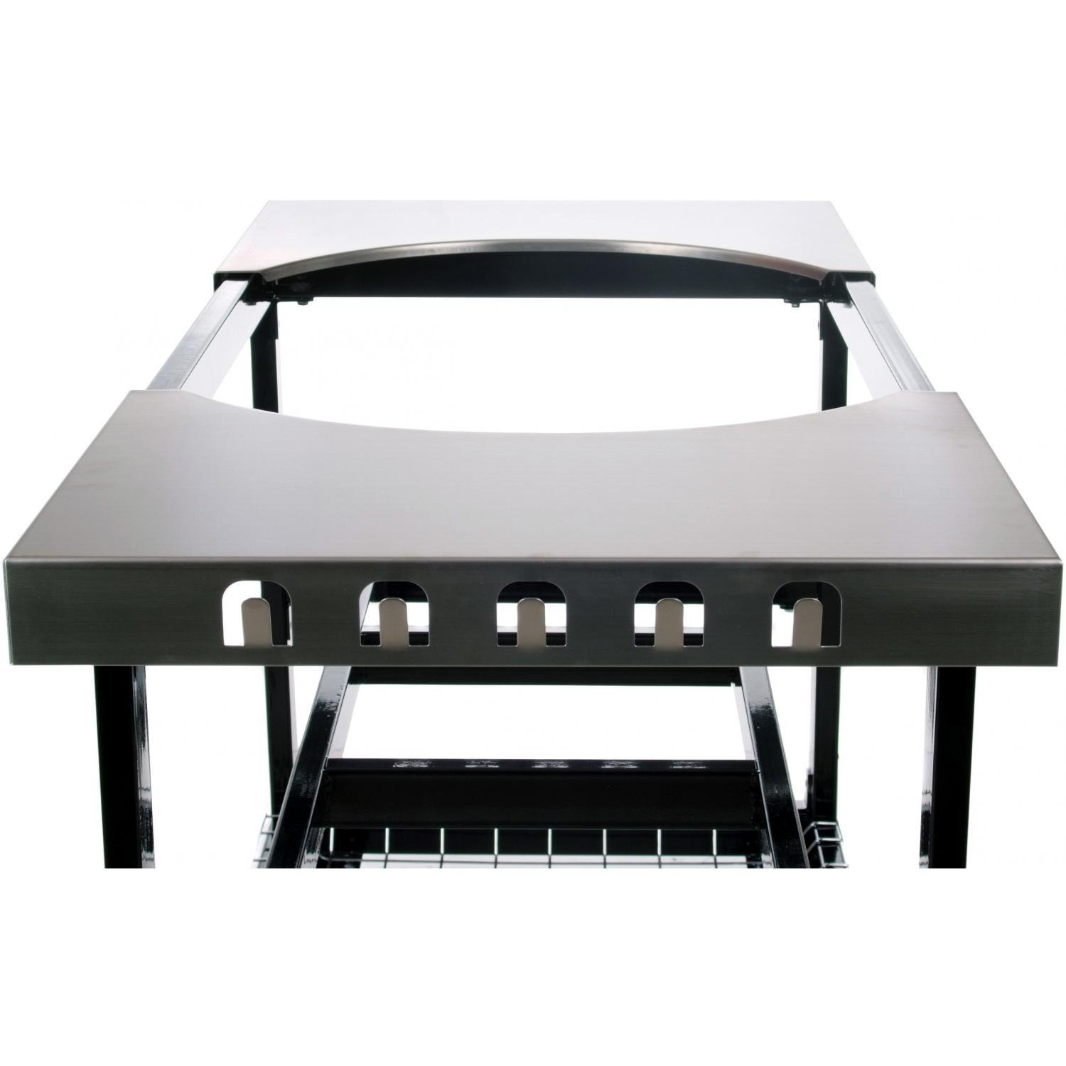 Amazon.com : Primo Grills U0026 Smokers 320 Cart With Stainless Steel Side  Tables For Junior Oval : Swimming Pools : Patio, Lawn U0026 Garden