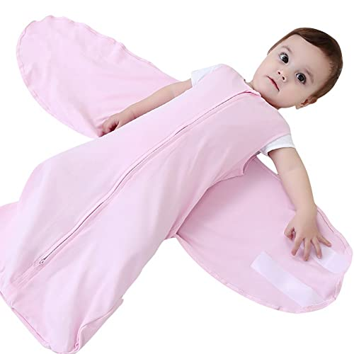 Luyusbaby Newborn Baby Sleeping Bag Swaddle Wrap Receiving Blanket 3 6 Months