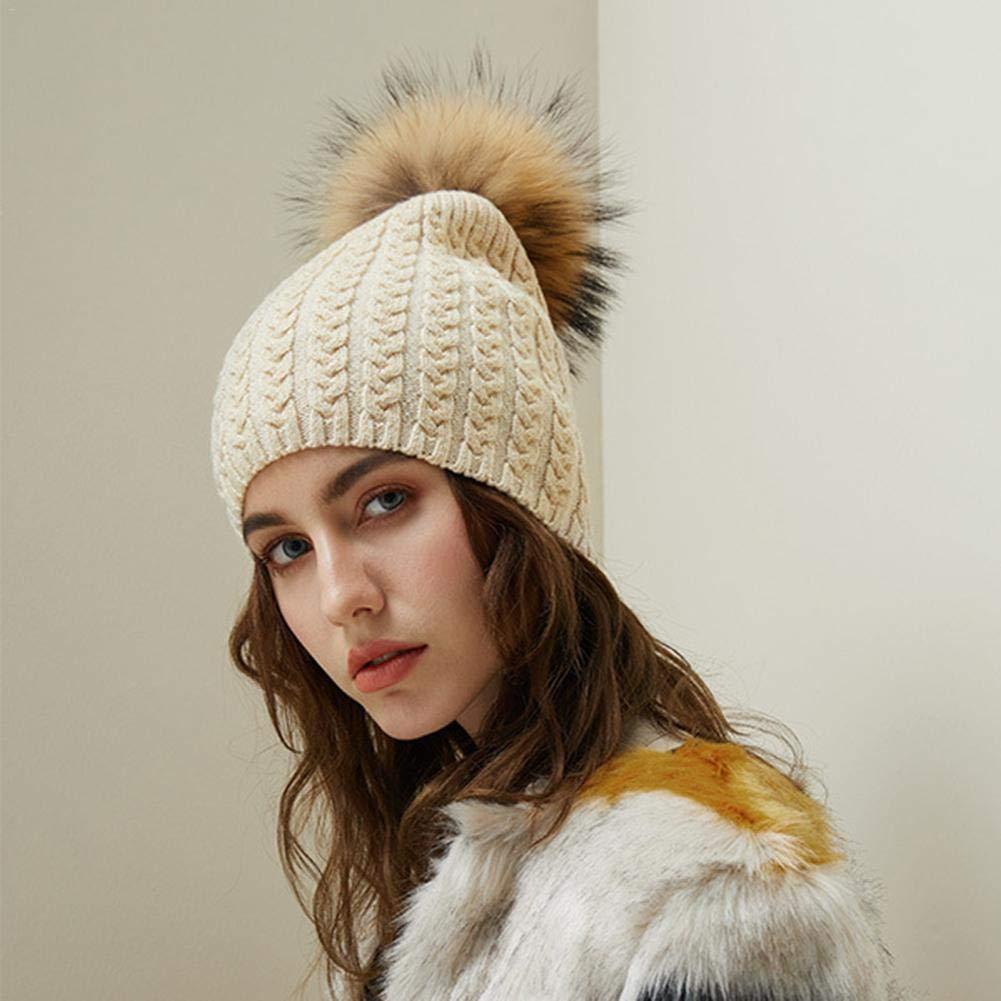 Reputedc Nueva moda para mujer de invierno cálido sombrero venta al ...