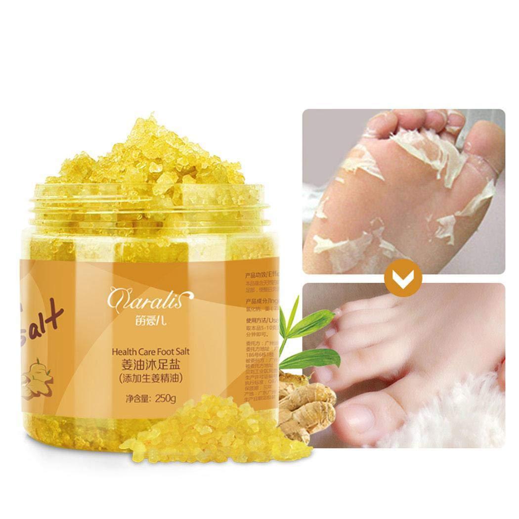 GuGio Ginger Oil Foot Soak Helps Soak Away Athletes Foot, Fungi Nail, Toe Nail Fungus & Stubborn Foot Odor – Anti-Fungal, Anti-Bacterial, Soften Calluses & Soothes Sore Tired Feet