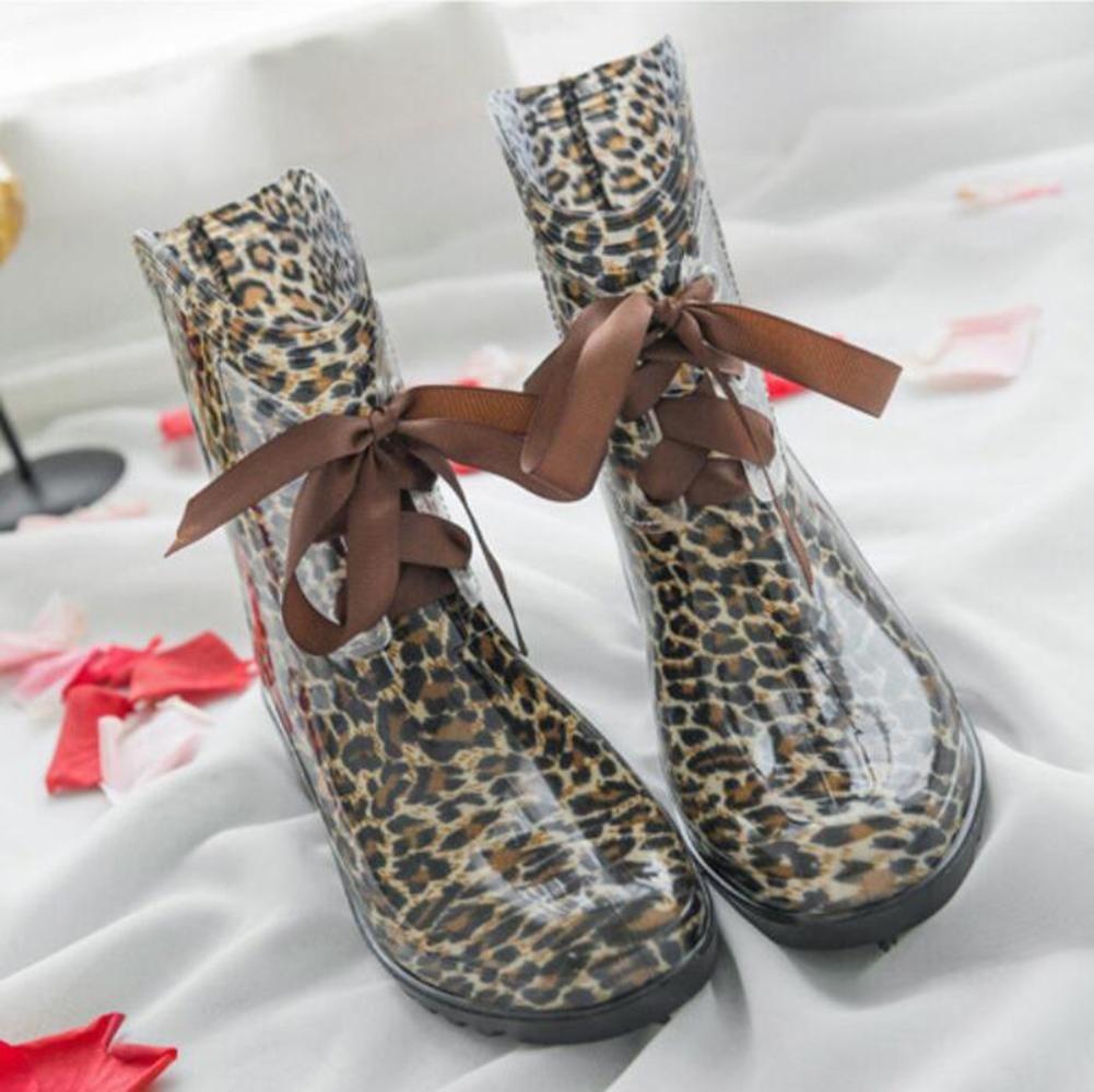 SIHUINIANHUA Lady Tube Regen Stiefel Stiefel Stiefel Fliege Regen Stiefel Wasser Schuhe Wasser Schuhe Sätze von Schuhen 5 39 8b6f69