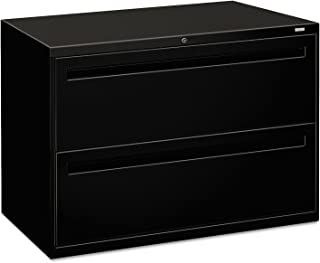 product image for HON 792LP 700 Series Two-Drawer Lateral File, Black, File Cabinet, with Lock, 42w x 18d x 28h