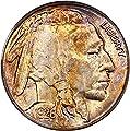 1926 S Buffalo Nickels Nickel MS64 PCGS