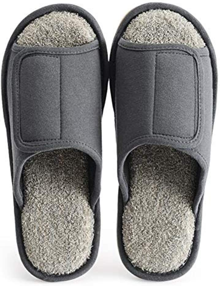 Extra Wide Adjustable Slippers Diabetic