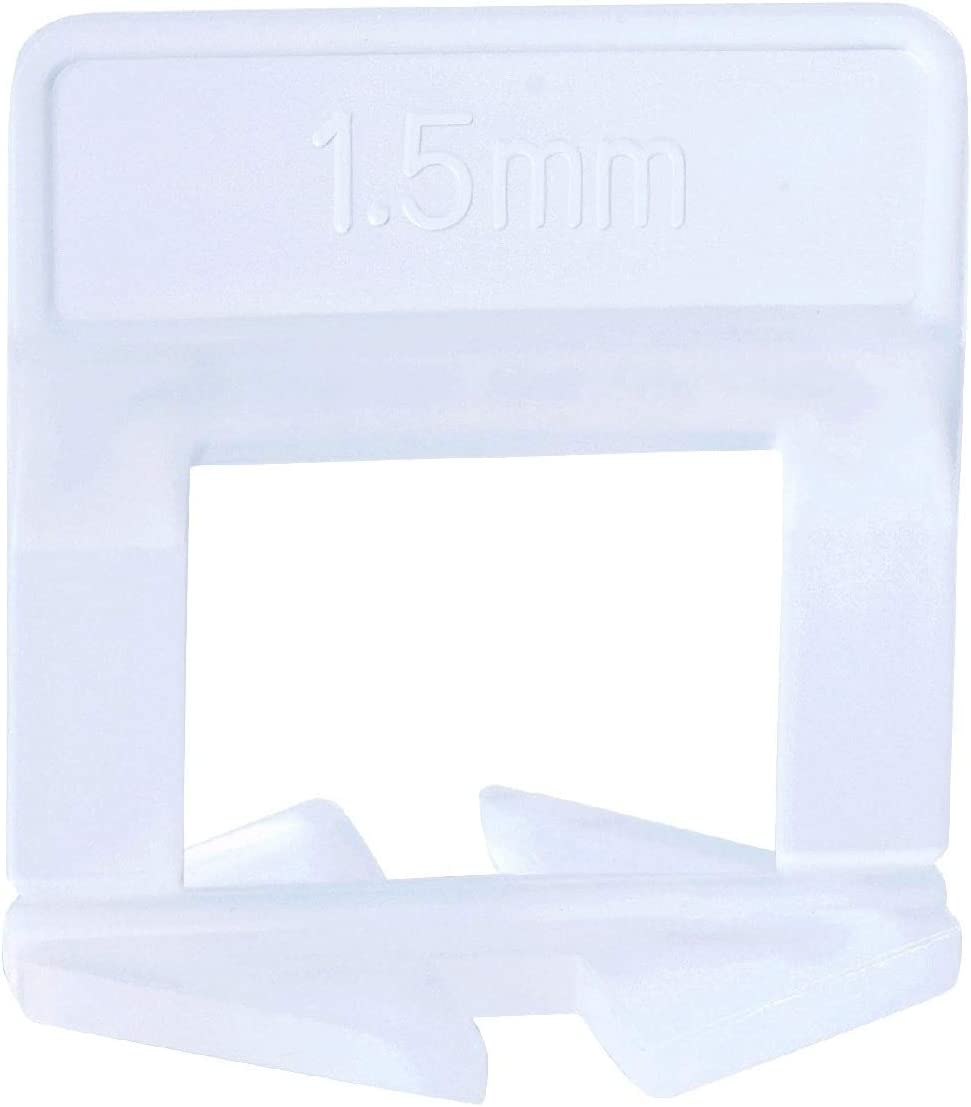 "Tile Leveling System Clips - 400 Pcs Clips(1/16"" (1.5mm)) - -"