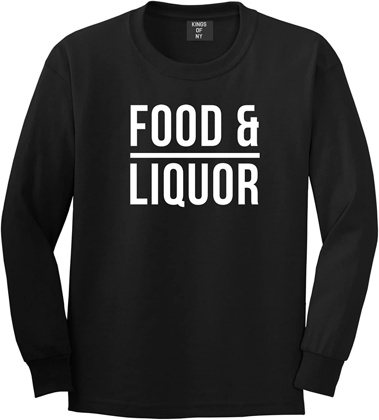 Kings Of NY Food and Liquor Fun Fiasco Party Hiphop Lupe Long Sleeve T-Shirt