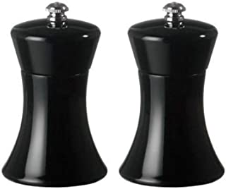 product image for Fletchers' Mill Sierra Salt & Pepper Mill, Black - 4 Inch