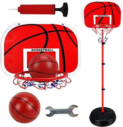W&HH 83-200Cm Canastas Baloncesto,Estable Y Altura Regulable ...
