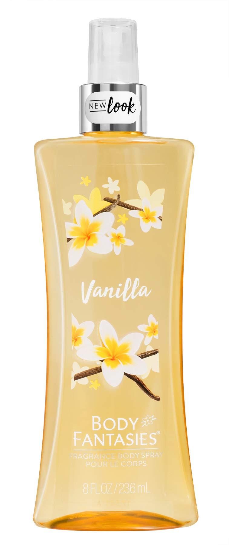 Parfums de Coeur Body Fantasies Signature for Women Spray, Vanilla, 8 Ounce