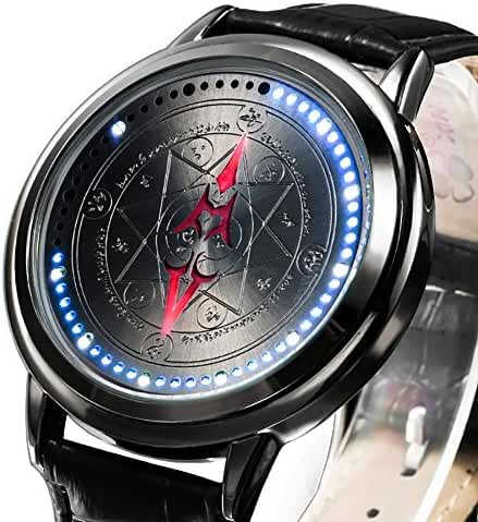 Wildforlife Anime Fate/stay night UBW Emiya Shirou Saber Command Seal Collector's Edition LED Watch