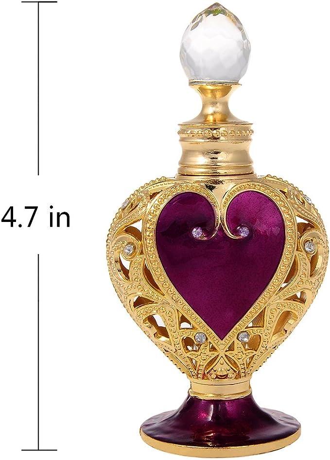 Gem Heart Perfume Bottle: Amazon.co.uk