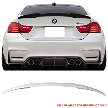 Pre Painted Trunk Spoiler Fits 2014 2017 BMW 4 Series F32 2Dr Coupe