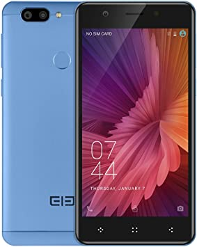 ELEPHONE P8 Android 7.0 Smartphone 5.5 pulgadas FHD pantalla Phablet, Dual Principal cámaras Dual SIM, 6 GB de RAM + 64 GB ROM Octa Núcleo Huella Dactilar: Amazon.es: Electrónica