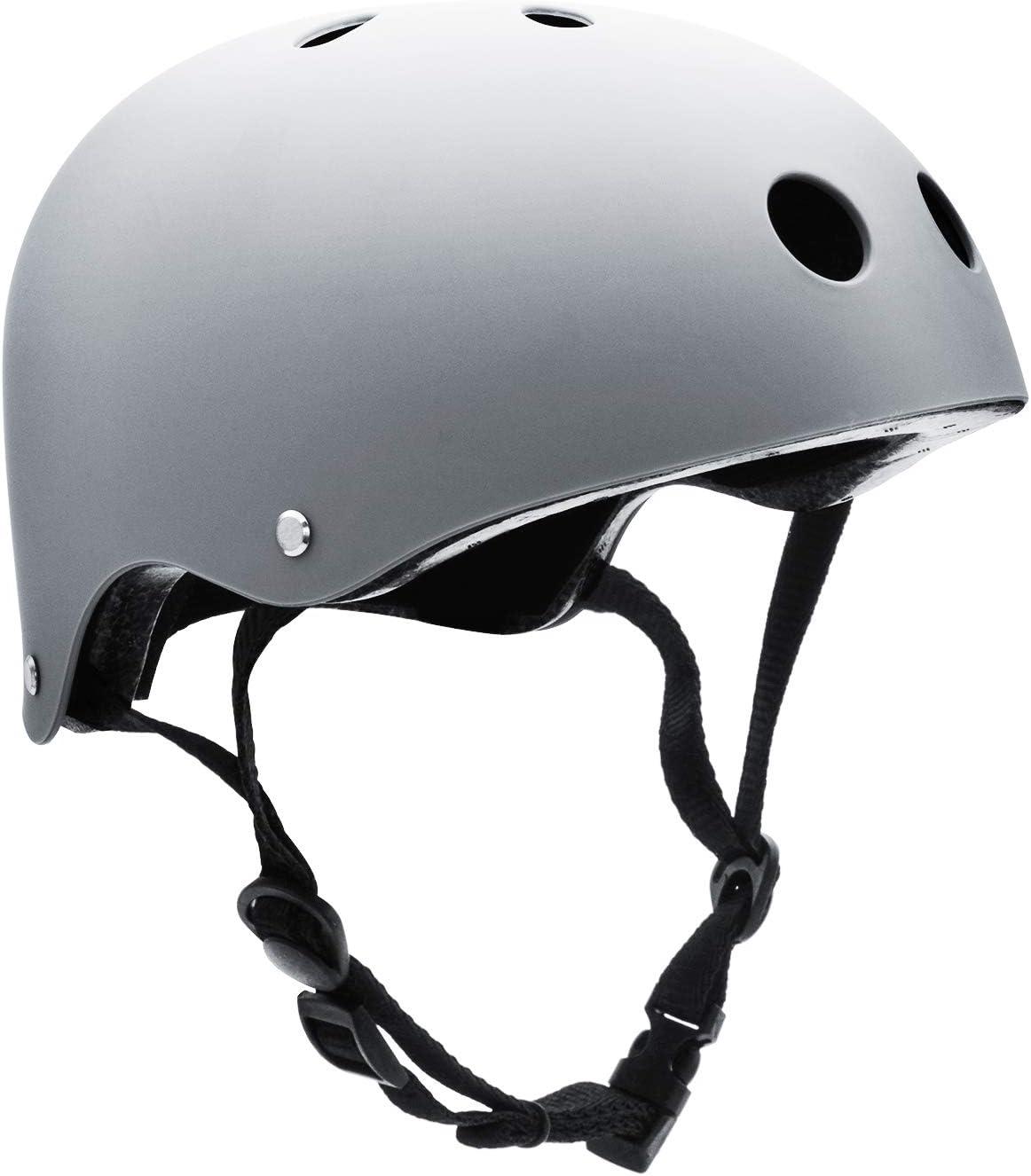 Climbing BMX FerDIM Kids//Adult Skateboard Helmet with Removable Liner for Skate Inline Skating Roller Skate Scooter Bike Skiing Adjustable Straps Multi Color Cycling Longboard Skateboarding